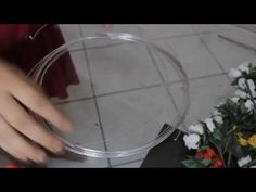 Coroa de Flores ! passo a Passo ! By Dy Mello ! DIY Wreath of flowers - YouTube