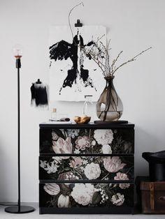 Möbeltattoos - Furnitre Aufkleber Malm, Portugiesisches - ein Designerstück von colorayDECALS bei DaWanda