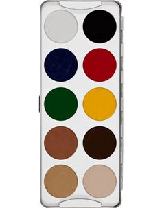 Body Illustration Make-up Color Palette 10 Farben | Kryolan - Professional Make-up
