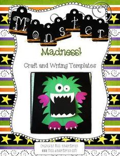 Spookify your classroom by adding these silly little monsters to your bulletin board this October!