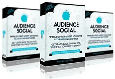 Audience Social is a retargeting software suite that leaves little to your imagination and does the heavy lifting for you. With AudienceSocial, it doesn't only help you retargeting your visitors on Facebook, but Bing, and many other social networks.
