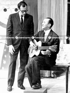 #Foto | Renny Ottolina junto a Alirio Díaz en el programa el Show de Renny. Foto: Archivo Fotográfico/Cadena Capriles