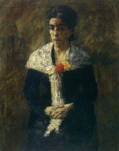 1882, James Ensor, Portrait of Artist's Mother