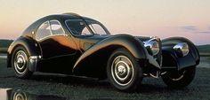 STRANGE OLDE CLASSIC AUTOMOBILES - 1939 BUGATTI 57SC ATLANTIC