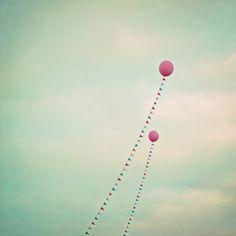 Whimsical Balloons Art Print by Laura Ruth   Society6