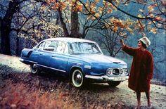 Tatra 603 picture was taken by theater photographer František Krasl Retro Cars, Vintage Cars, Antique Cars, Bratislava, Ambulance, Cars Land, Limousine, Top Cars, Custom Cars
