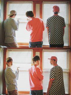 B A N G T A N | V x Jin x Rap Monster | BTS Now 3 Dreaming Days | Scans by Sam #BTS