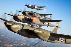 Aviões e etc by Daniel Alho / P-38 Lightnings