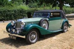 1939 MG WA Tickford 3 Position Drophead Coupe
