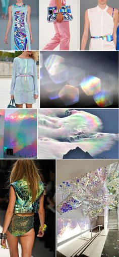 hologram zenon look is in Chasing Unicorns, Holographic Fashion, Fashion Art, Fashion Design, Fashion Trends, Grunge, Color Balance, Punk, Color Inspiration