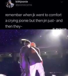 Jin has amazing timing 😂💜 Bts Bangtan Boy, Bts Taehyung, Bts Boys, Bts Jungkook, Bts Memes Hilarious, Bts Funny Videos, Foto Bts, Bts Tweet, Bts Dancing