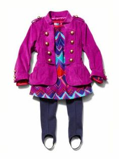 Baby Clothing: Toddler Girl Clothing: We ♥ Outfits | Gap Okay...hate the stirrup pants but Claire would ROCK this outfit :)
