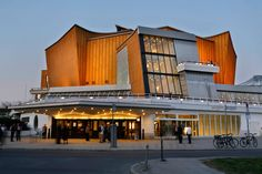 BERLINER PHILHARMONIE, Berlin // Europe's concert halls resembled shoeboxes until the 1960s, when German architect Hans Scharoun completed this round wonder.