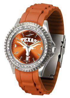 Texas Longhorns Womens Sparkle Watch