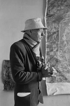 Pierre Bonnard. I love this photo...and his art.