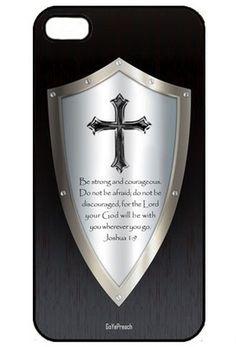 Shield of Faith iPhone 5 Christian * Religious Hard Case * Cover * Bible Verse