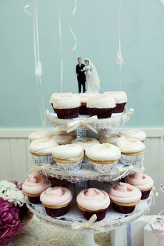 Small cupcake tree. Special Events - by Magnolia Bakery, NYC