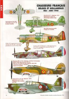 French WW II Fighters