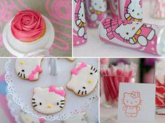 Hello Kitty Birthday Party - Pretty My Party #hello #kitty #party #ideas