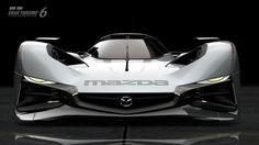 Mazda Gran Turismo !  What a designer from another world! This is an alien ship..WoW ..