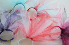 diy summer crafts for kids | ... : Quick & easy summer craft for kids! D.I.Y. tutu inspired hair ties