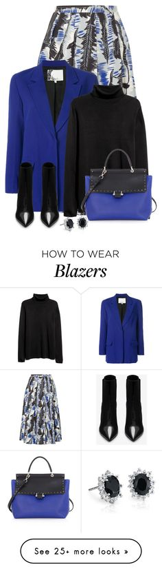"""""""Untitled #614"""" by nezahat-kaya on Polyvore featuring Marni, 3.1 Phillip Lim, Yves Saint Laurent, Lanvin and Blue Nile"""