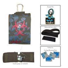 Boys Biohazard Value Pack for Insulin Pumps. Visit us at radrr.com