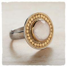 I found this rose quartz Bijou Ring at Arhaus Jewels. $220.00 #arhausjewels