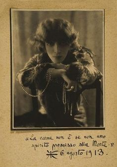 Adolf De Meyer ~Marchesa Luisa Casati,1912-13