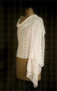 Pearl Shawl - shawl knitting pattern, wrap knitting pattern