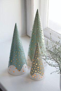 Nobili telysestaker – Stilren julepynt med inspirasjon fra de nordiske skoger