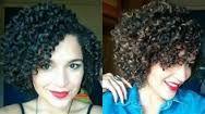 Resultado de imagem para mechas cabelo cacheado curto