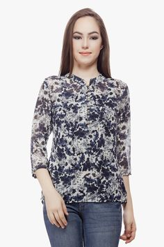 Floral Top from Miss Queen