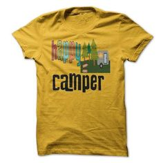 funny happy camping camper T Shirts, Hoodie. Shopping Online Now ==►…