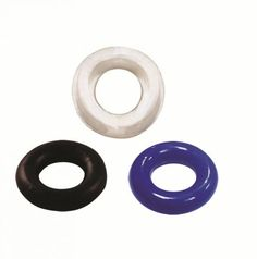 Perform like the stud you are! These Stay Hard Rings are a simple seductive add on to prolong your ejaculation OR if you just want to add extra sensation the next time you masturbate-they sure can be a handy addition! Stay Hard cock rings provide amazing benefits as these can be used around the shaft or both the shaft and testicles to increase both your size and stamina. This trio of cock rings are also made of super stretchy Elastomer for your safety and hygiene during your intimate play…