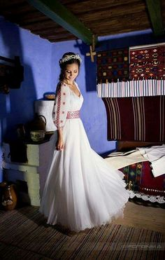 Rochie mireasa Ie Romaneasca