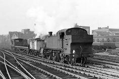 GWR no. 4179 on an up freight. Steam Railway, British Rail, Hill Station, Steam Engine, Steam Locomotive, Birmingham, Around The Worlds, Snow, Trains