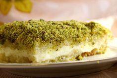 LEBANESE RECIPES: Homemade Lebanese Dessert Aysh El Saraya Recipe