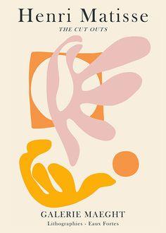 Udvalgte plakater fra hele verden Henri Matisse, Matisse Art, Matisse Prints, Matisse Paintings, Graphic Design Posters, Graphic Art, Graphic Prints, Chef D Oeuvre, Oeuvre D'art