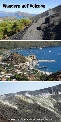 Meine Tipps für die Insel Vulcano: Wanderung auf den Vulkan, Schlammbad, Baden am schwarezen Strand (Baia Negra),..., Italien