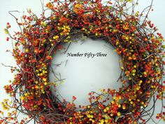 Number Fifty-Three: Super Easy, DIY, Bittersweet Wreath