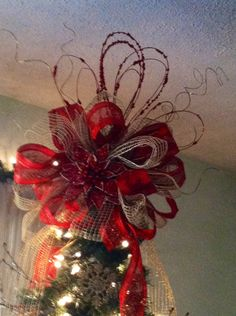 Christmas tree topper!!! Love