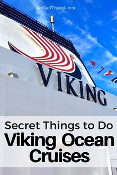 travel tips for things to do on Viking ocean cruises | what to do on Viking cruises | Viking cruise tips