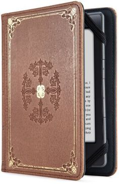 Verso Prologue Cover for Kindle, Tan (fits Kindle Paperwhite, Kindle, and Kindle Touch) by Lightwedge. $39.99. From the Manufacturer                                                                                                  Product Description                                      From the Manufacturer                                                                                                                                  Verso Prologue Tan E-Reader Cover for Kindle T...