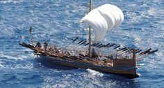 Turismo: Grecia, un museo ospiterà replica nave di Argo Ancient Greek Art, Ancient Greece, Greco Persian Wars, Sea Peoples, Greek Sea, Merchant Marine, Greek History, Cool Boats, Argo