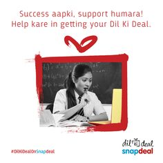 Shoot for the stars #DilKiDealOnSnapdeal