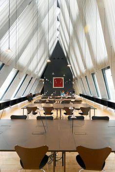 Unterlinden table light by Herzog & de Meuron for Artemide