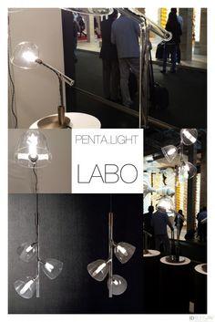PENTA LIGHT | ID RUNWAY #euroluce 2015, #salone del mobile 2015, #lighting design trend, #lamp trend, #minimal lamp, #murano lamp