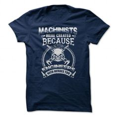 Heroes - Machinist LIMITED TIME ONLY. ORDER NOW if you like, Item Not Sold Anywhere Else. Amazing for you or gift for your family members and your friends. Thank you! #machinist