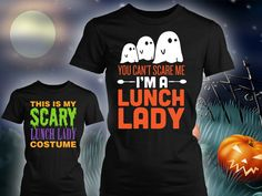 Limited Edition Lunch Lady Halloween Designs!  http://keepitschool.com/collections/lunch-lady?PIN=SQ